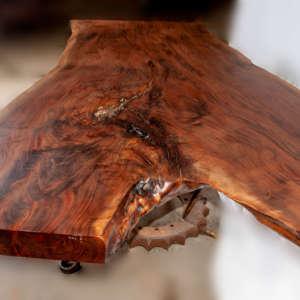 live edge wood