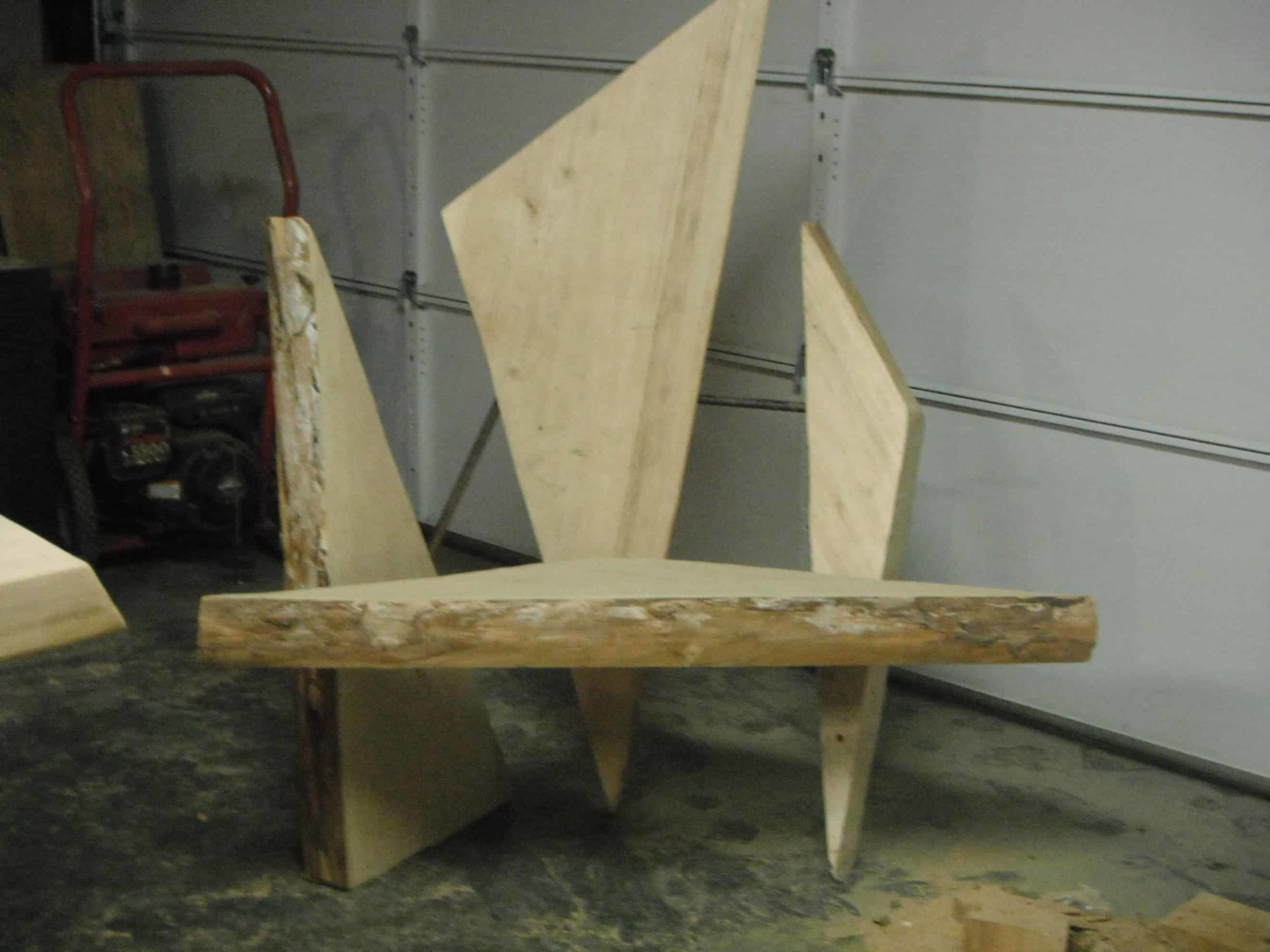 Spruce Triangle Chair